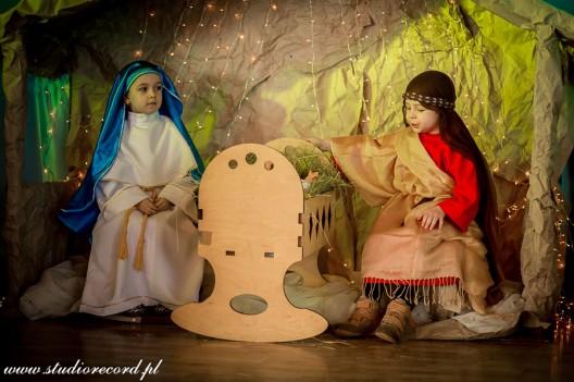 Jasełka i Mikołaj w Przedszkolu